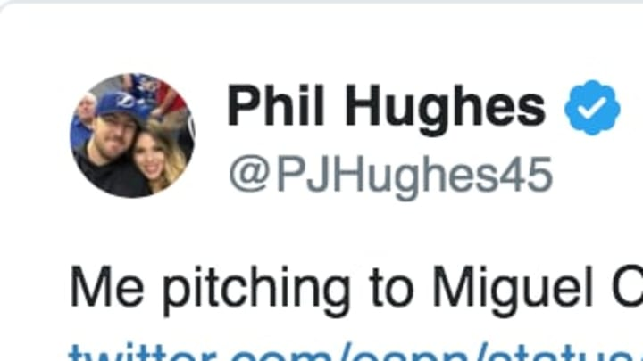 Former MLB Pitcher Phil Hughes Has Hilarious Tweet About Getting Owned by Miguel Cabrera Throughout Career