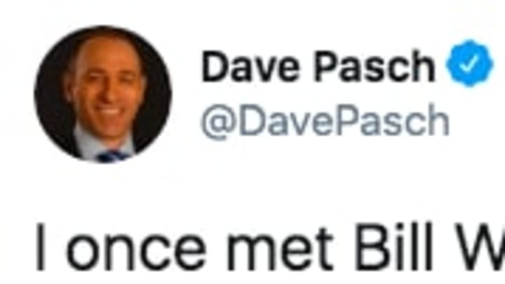 Dave Pasch trolled his ESPN partner Bill Walton on Twitter.