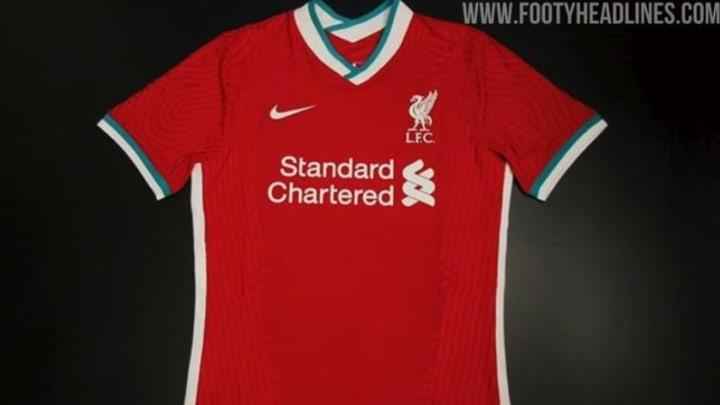 Liverpools Heimtrikot