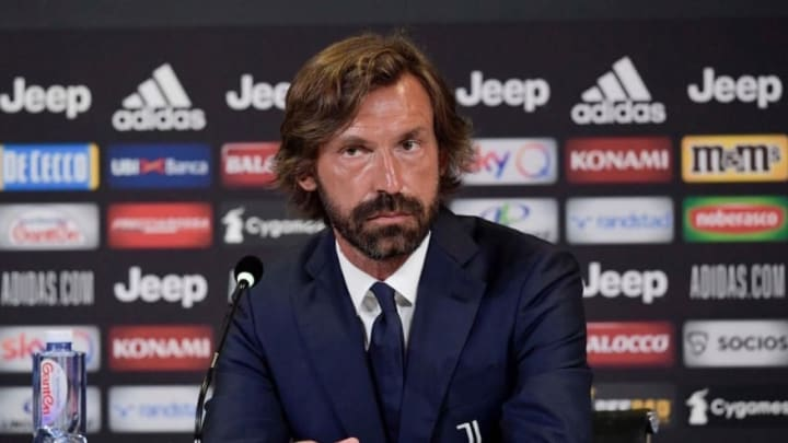 Andrea Pirlo is the new Juventus manager