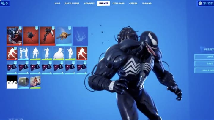 Every Leaked Skin And Cosmetic For Fortnite V14 60 Update The venom skin is a marvel fortnite outfit from the venom set. cosmetic for fortnite v14 60 update