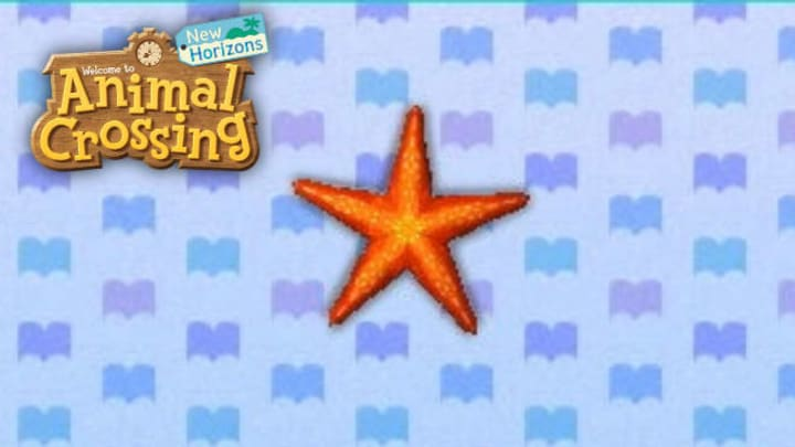 """""""I got sea star! Is a group called a constellation?"""" —New Leaf"""