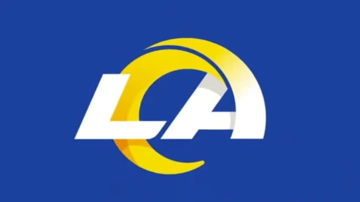 The new Los Angeles Rams logo