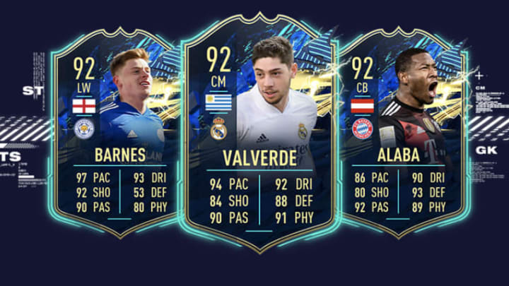 The Community TOTS was directly voted on by fans, with the top 15 players up and down the pitch included with massive boosts.