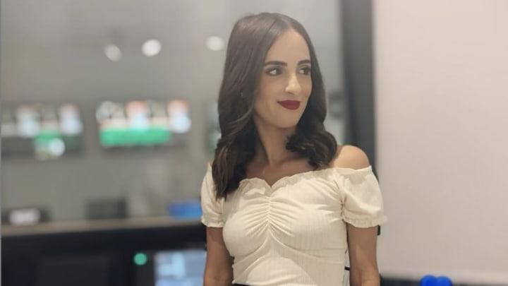 Julia Brizuela es reportera en TV Azteca en Guanajuato, México (Foto: Instagram @juliabrizuela97)