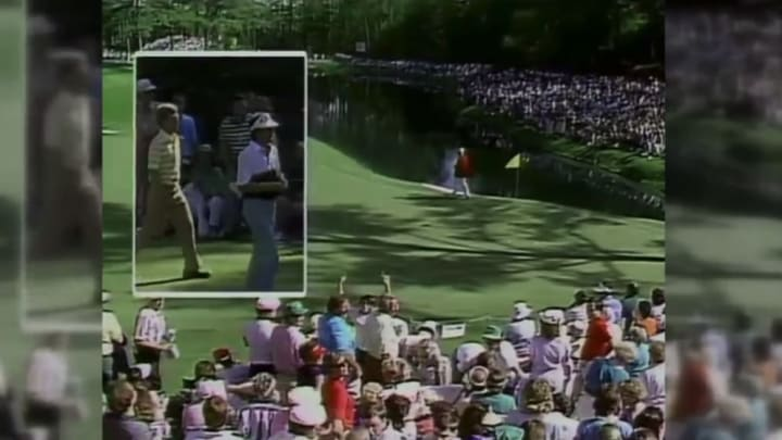 Double box at the Masters.