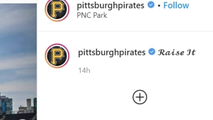 PNC Park repainted and designed in conjunction with AHN Heroes' Day in Pittsburgh