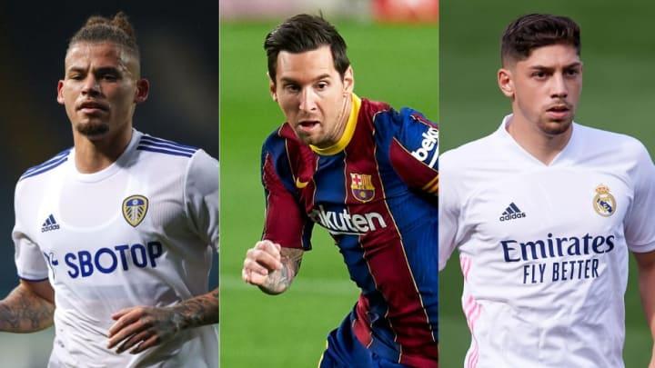 Kalvin Phillips, Lionel Messi, Federico Valverde