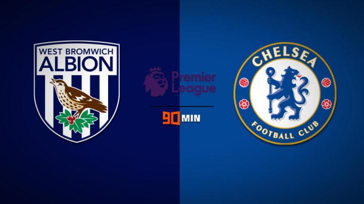 เวสต์บรอมวิช อัลเบี้ยน พบ เชลซี พรีวิวพรีเมียร์ลีก ถ่ายทอดสด West Bomwich Albion vs Chelsea Premier League Preview