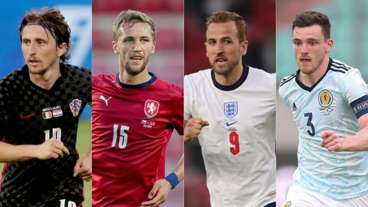 EURO 2020 Group D Preview, Croatia Luka Modric, Czech Tomas Soucek, England Harry Kane, Scotland Andrew Roertson