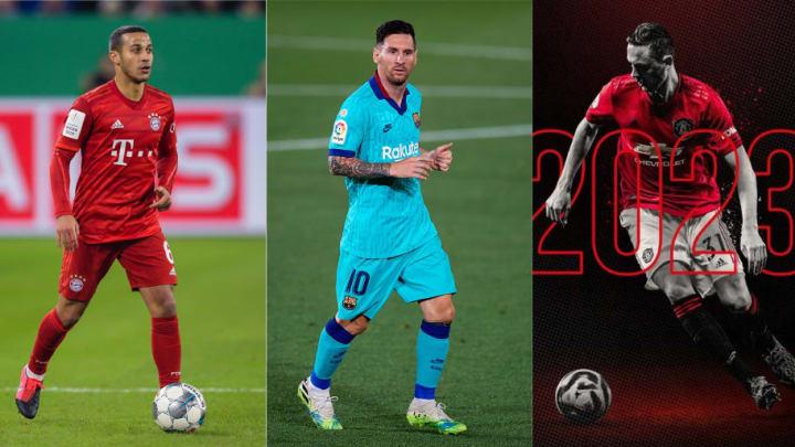 Thiago, Lionel Messi. Nemanja Matic