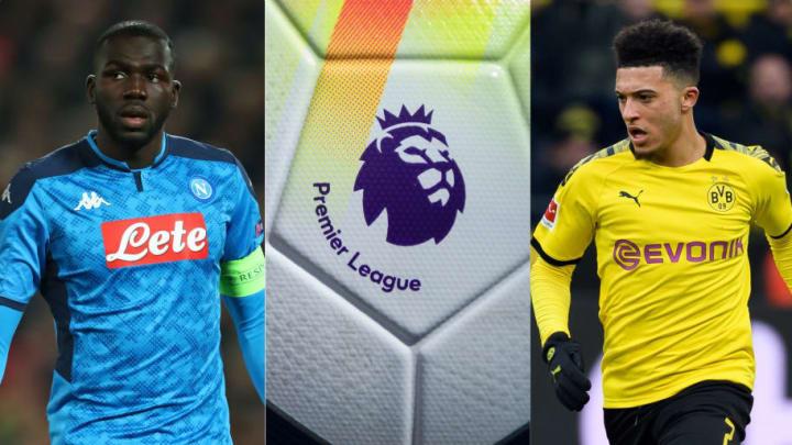 Koulibaly, Premier League, Sancho