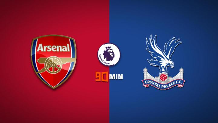 Arsenal vs Crystal Palace : Premier League 2020/21