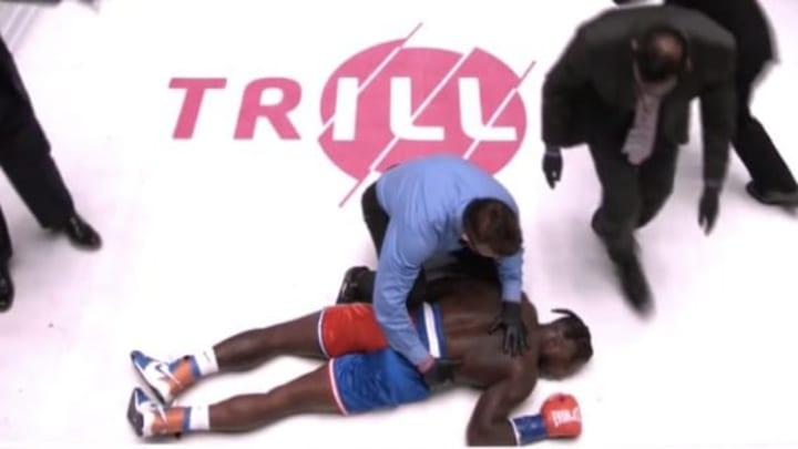 Nate Robinson no se vio bien en su debut en el boxeo