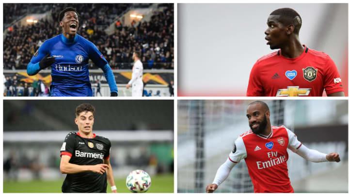 Jonathan David à Lille, Paul Pogba toujours sur le départ, Lacazette dans le viseur de plusieurs clubs et Kai Havertz demande à partir.