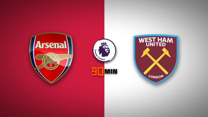 Arsenal vs West Ham United : Premier League 2020/21