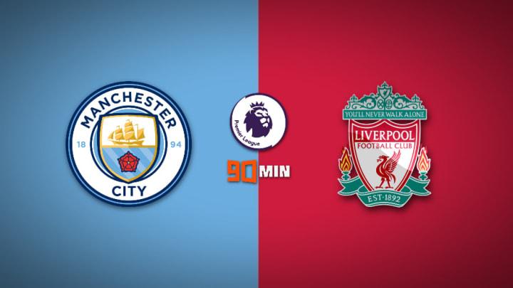 Manchester City vs Liverpool : Premier League 2020/21