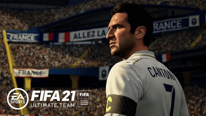 Eric Cantona was revealed as a new Icon coming to FIFA 21.