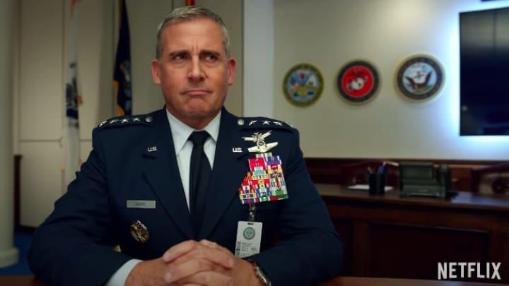 Steve Carell stars in Greg Daniels' new Netflix series 'Space Force.'