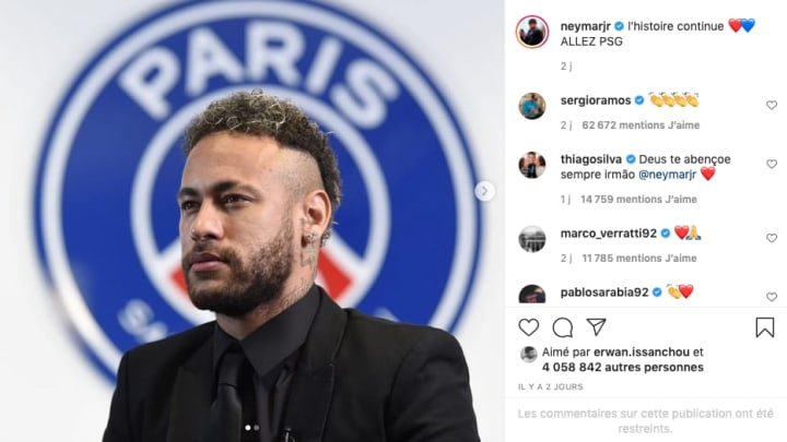 @Instagram : Neymar Jr