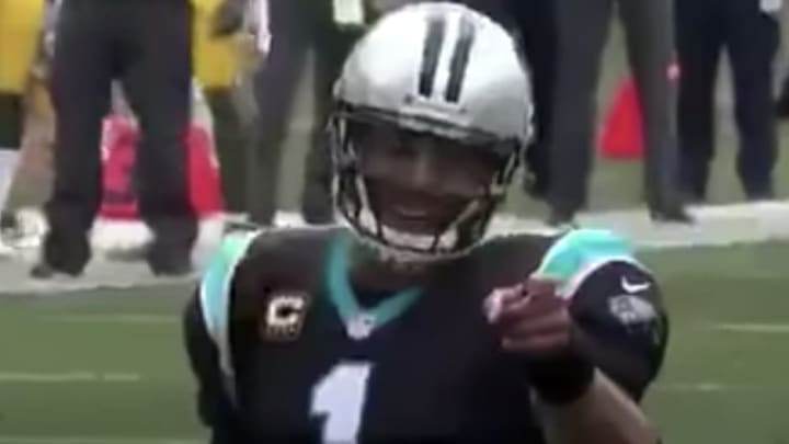 VIDEO: Remembering when Cam Newton hilariously called out Clay Matthews pre-snap.