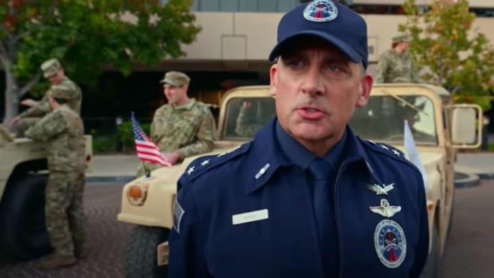 Steve Carell stars in full-length trailer for Netflix's 'Space Force.'