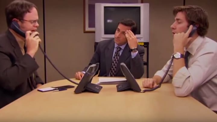 10 cut scenes from 'The Office'