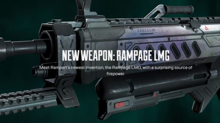Apex Legends developers have revealed that a brand new light machine gun (LMG) is heading to the game in Season 10.