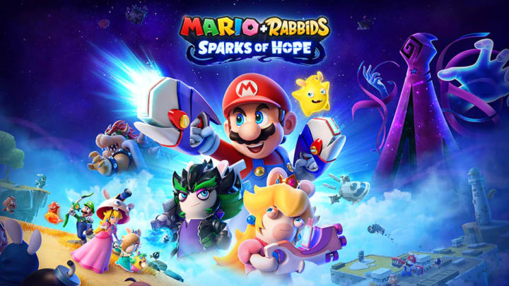 Is Mario + Rabbids Sparks of Hope was announced at this year's E3