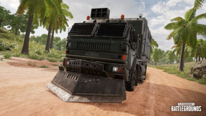 PLAYERUNKNOWN'S BATTLEGROUNDS Console Update 8.1 introduces Loot Trucks, an all new feature exclusive to the remastered Sanhok.