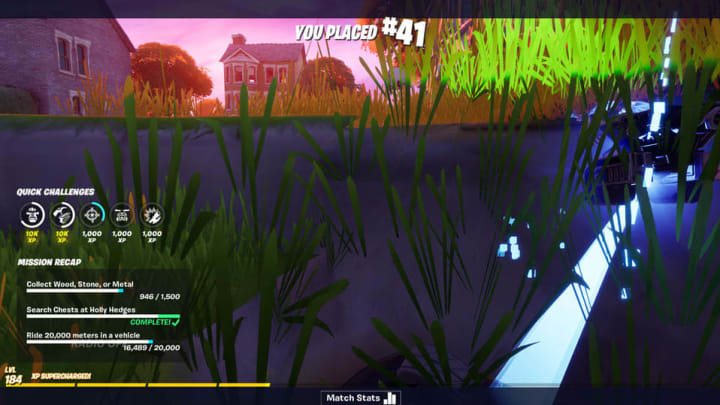 A player has reported an instant death glitch in the Holly Hedges POI in Fortnite Chapter 2 Season 4.