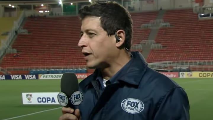 Fernando Caetano passou por canais como a ESPN e a Fox Sports.