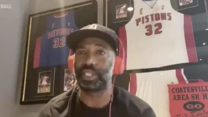 Richard Hamilton remembered when Michael Jordan traded someone for calling him old