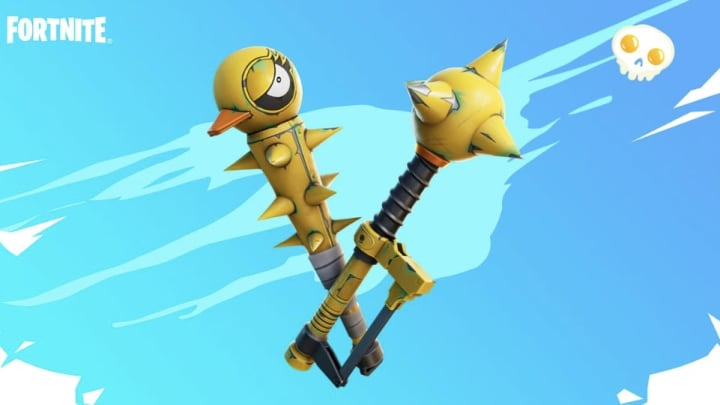 """When the Fortnite Season 6 trailer was first released, there was a brief moment where you could see a new weapon called the """"Recycler"""" being used."""