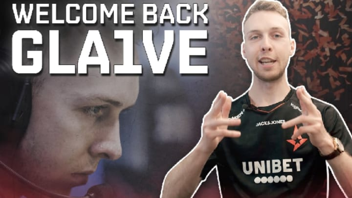 """Lukas """"gla1ve"""" Rossanderhas returned to the action after taking a """"sick leave"""" earlier this year."""