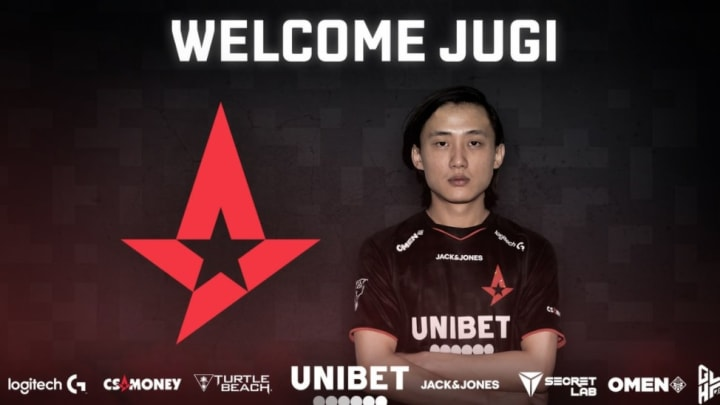 """Astralis have signed Jakob """"JUGi"""" Hansen as its seventh member on the Counter-Strike: Global Offensive roster."""