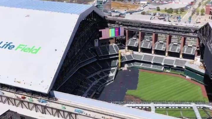 Los Texas Rangers estarán estrenando un nuevo estadio