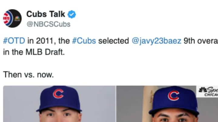 Today's the Anniversary of the Cubs Drafting Javy Baez and Every Fan Needs to See His Transformation