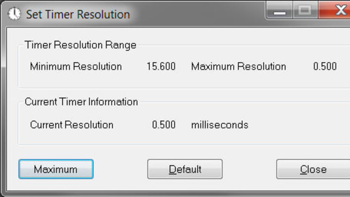Timer Resolution can help reduce input lag.