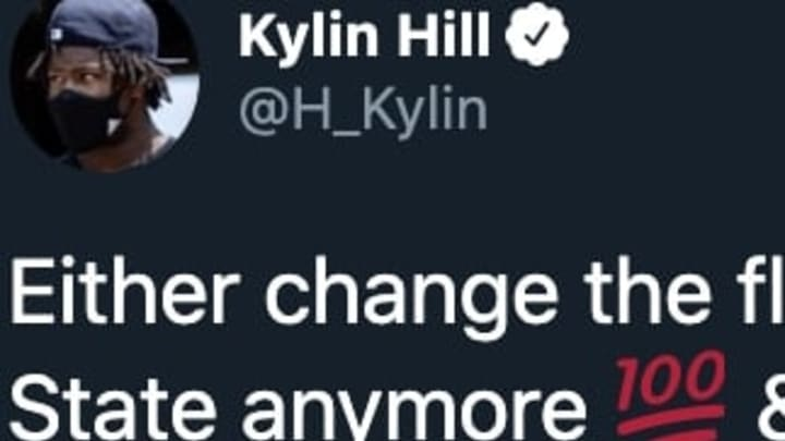 Mississippi State running back Kylin Hill sent a powerful message on Twitter regarding his future with the Bulldogs.