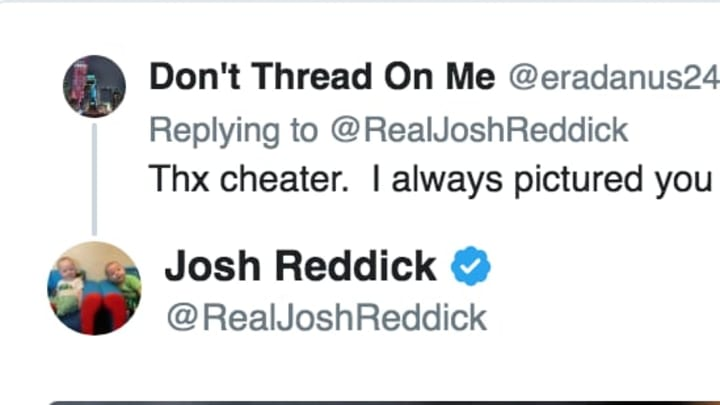Josh Reddick responds to Houston Astros troll
