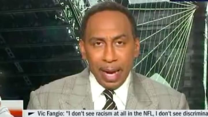 Stephen A. Smith's comments on the Vic Fangio situation were perfect.