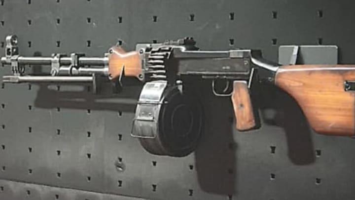 RPD Light Machine Gun