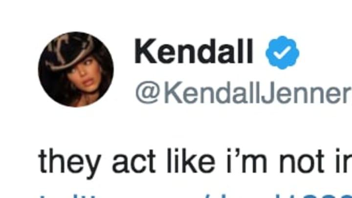 Kendall Jenner on Twitter