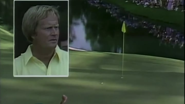 Jack Nicklaus, 16th hole, 1986 Masters.