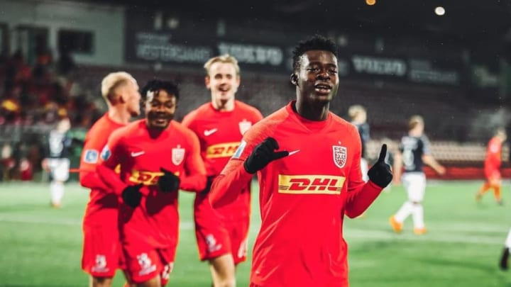 Kamal Deen Sulemana évolue avec le club danois de Nordsjaelland.