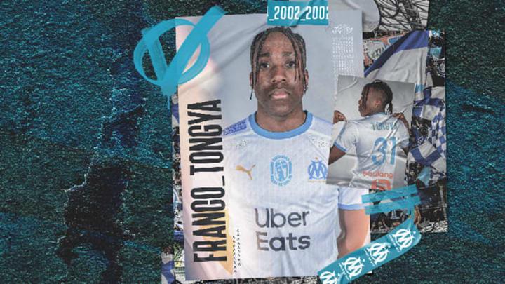 Franco Tongya a signé à Marseille.