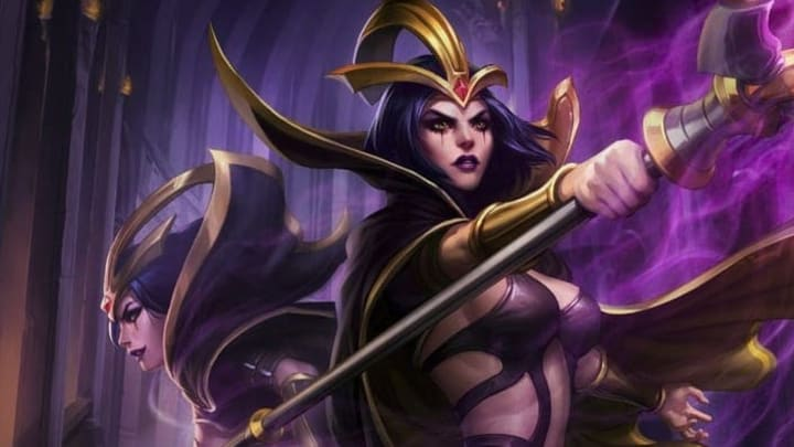 The Coven LeBlanc skin preview was released earlier today on the League of Legends Public Beta Environment.