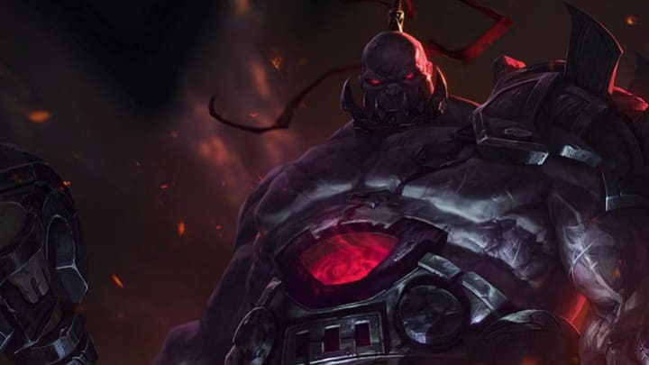 Worldbreaker Sion skin was introduced Tuesday in the League of Legends Public Beta Environment, and will go live in League of Legends Patch 10.6.