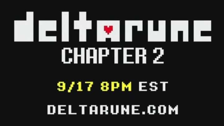 Toby Fox, the developer behind Undertale and its sequel, Deltarune, has announced the second chapter of the latter's story.